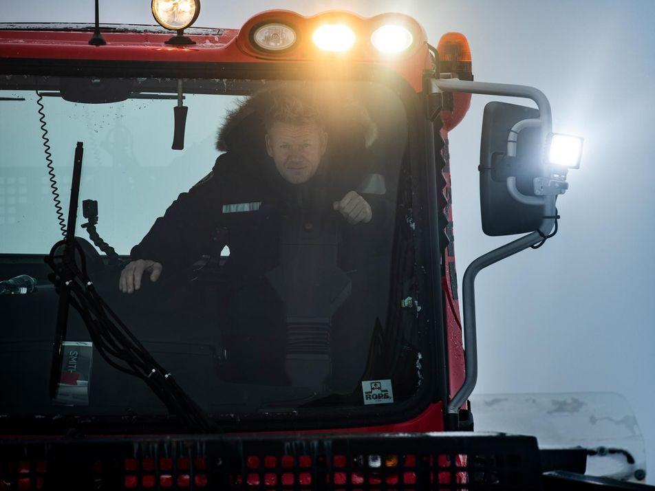 Gordon Ramsay Aventura-se Pelo Sudeste Gelado do Alasca