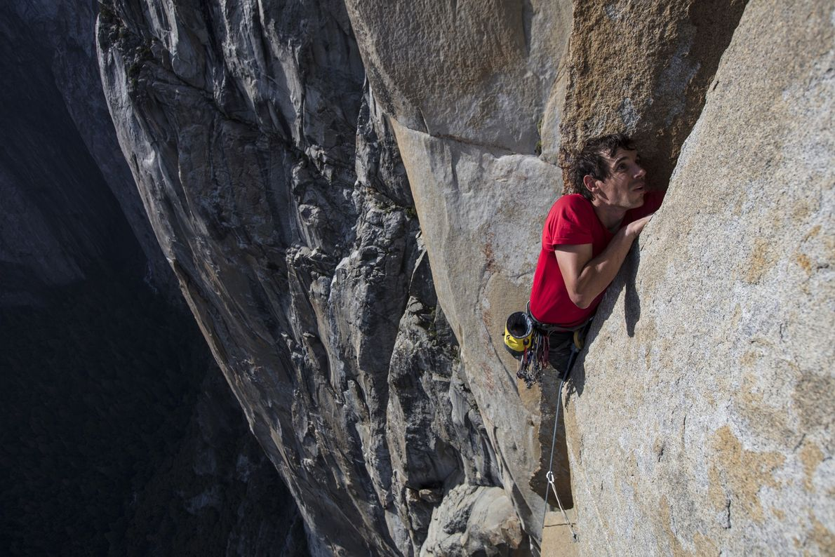 Alex Honnold no El Capitan