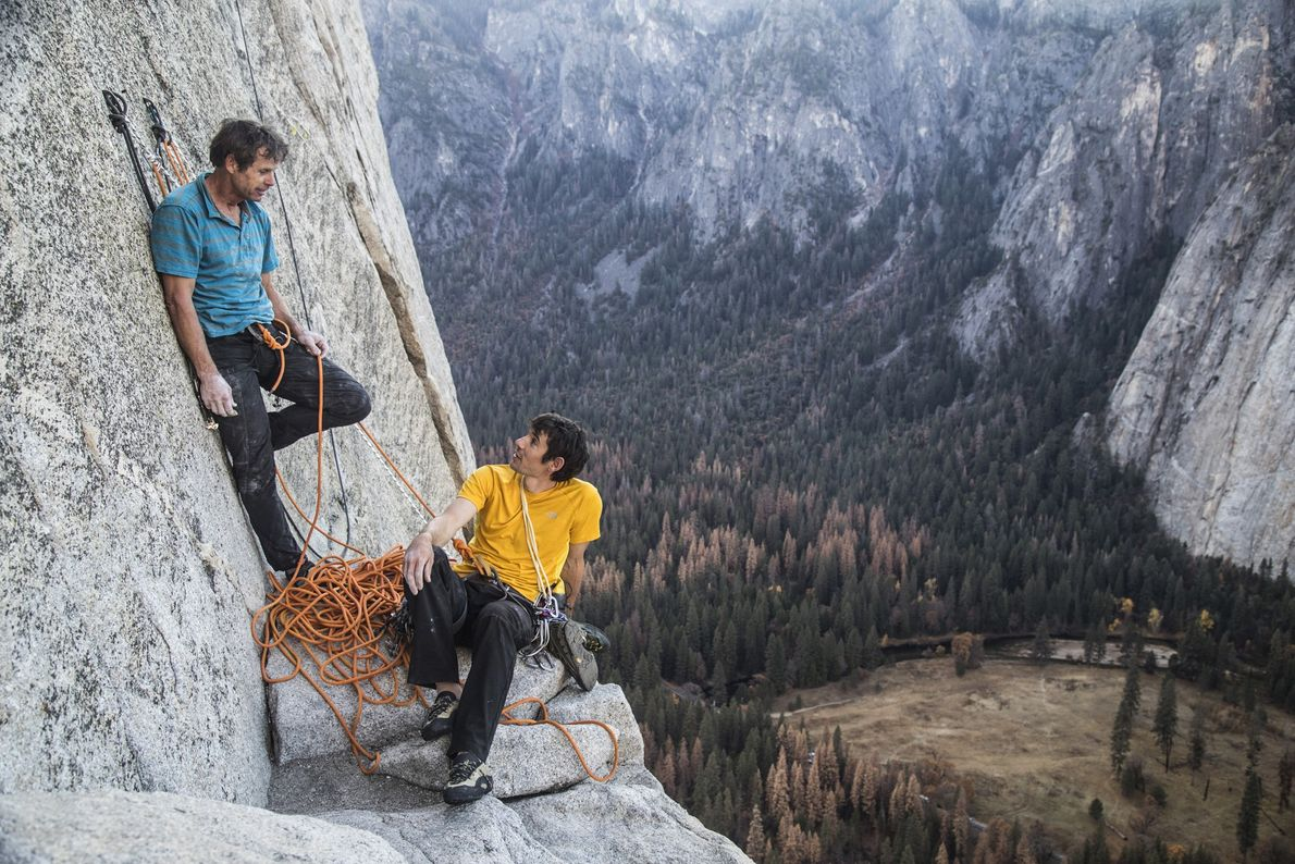 Alex Honnold e Peter Croft