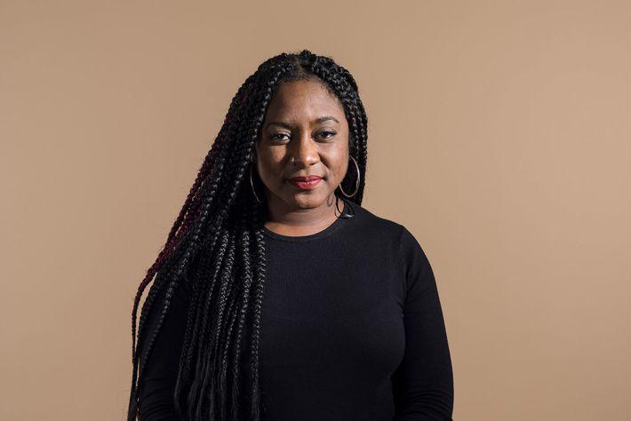 """A ativista Alicia Garza cunhou o termo """"Black Lives Matter"""" em 2013 com uma publicação no ..."""