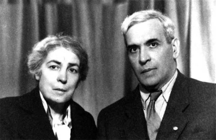 Aristides de Sousa Mendes e a esposa Angelina, 1948.