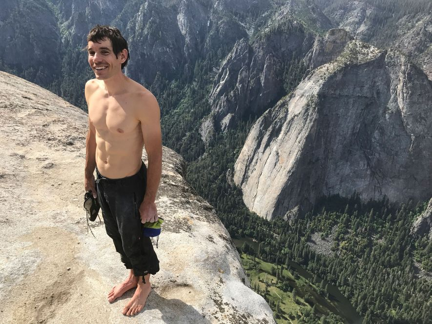 Honnold El Capitan