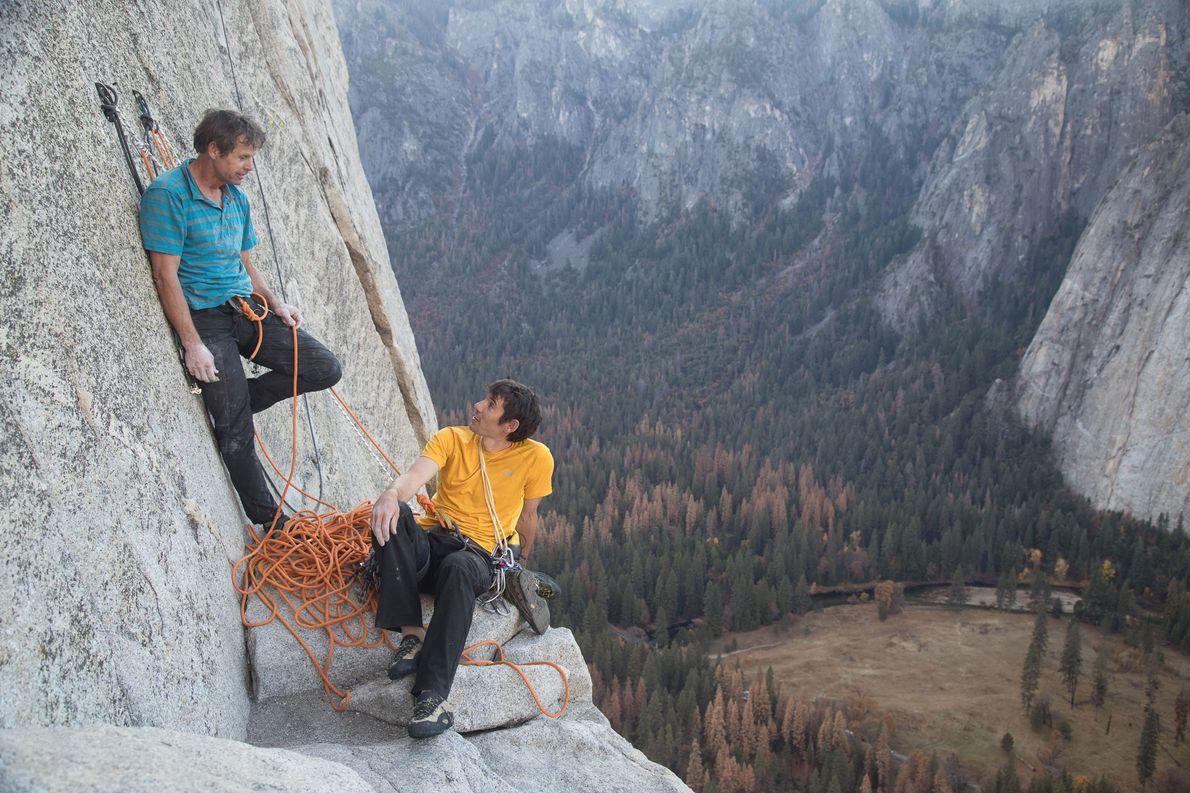 Parque Nacional de Yosemite Honnold