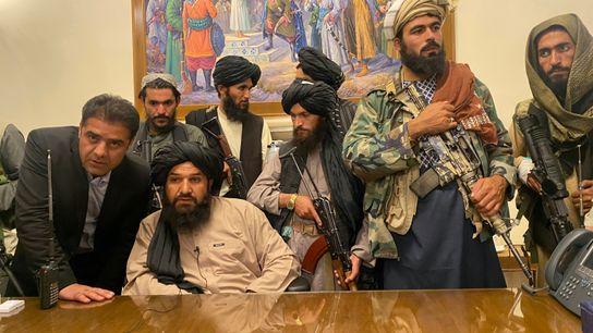 Os talibã tomaram o palácio presidencial
