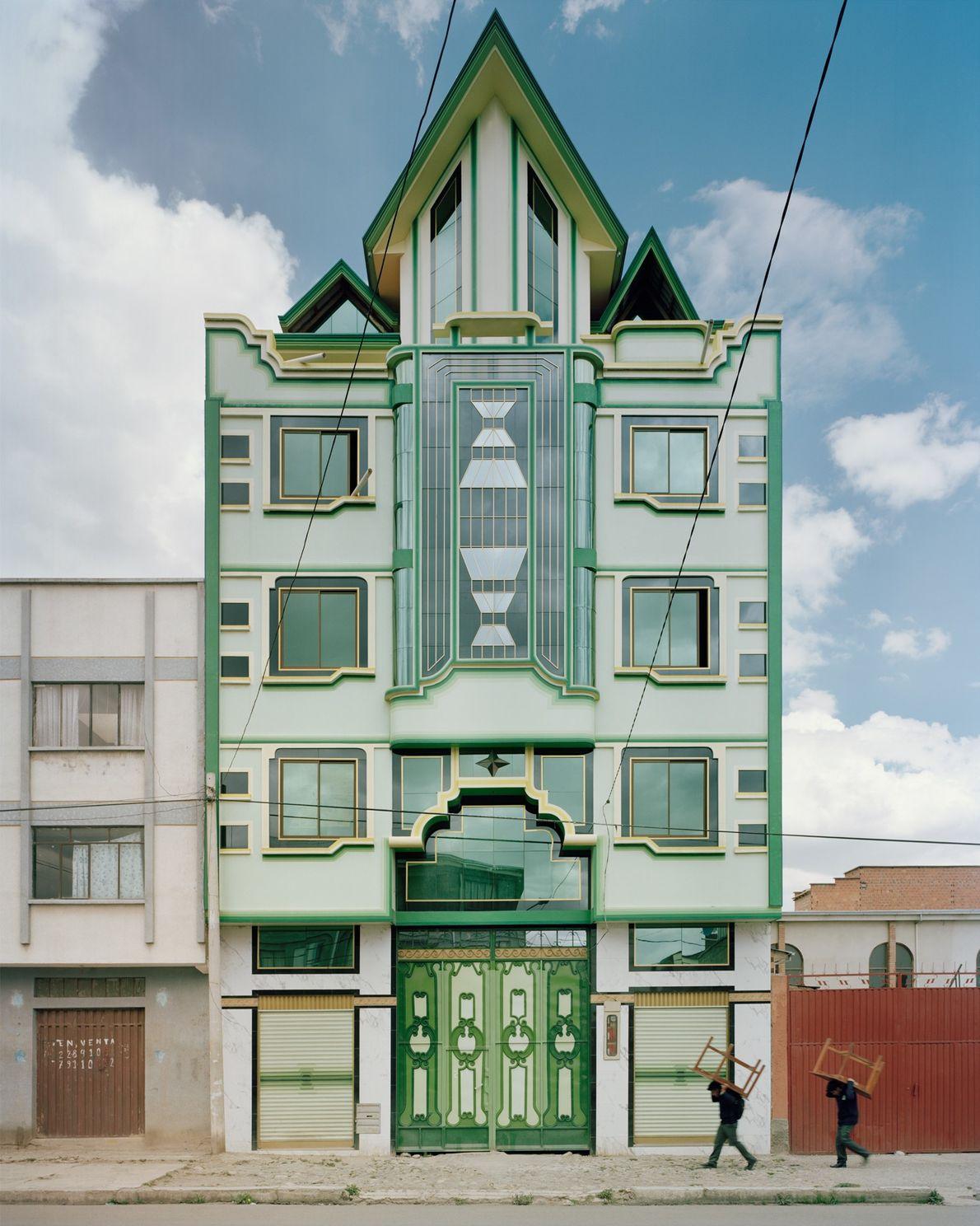 Os edifícios de Mamani.
