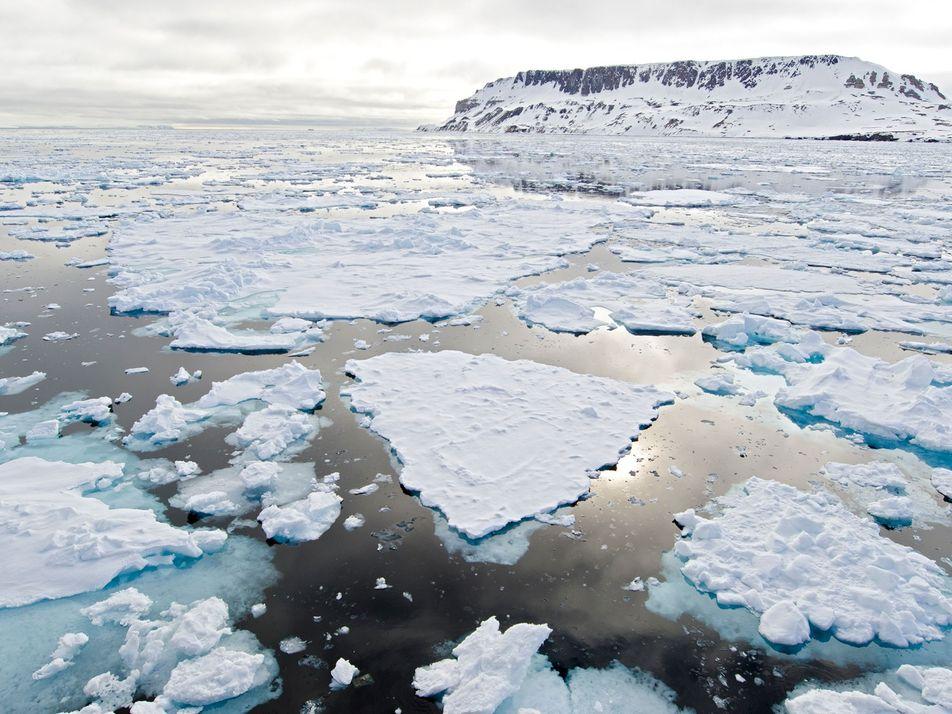 A Massa de Gelo no Ártico É a Segunda Mais Baixa de Sempre