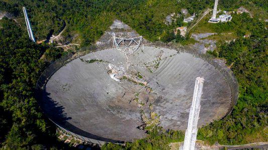 Radiotelescópio Icónico Sofre Colapso Catastrófico