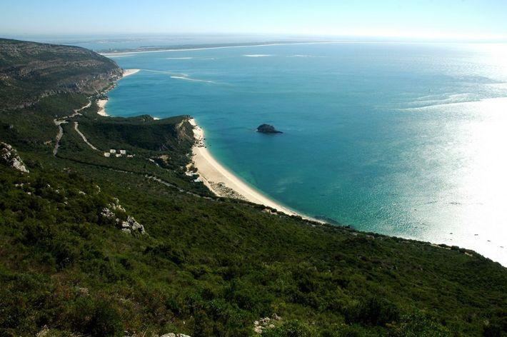 Serra da Arrábida, pertencente ao Parque Natural da Arrábida em Setúbal.