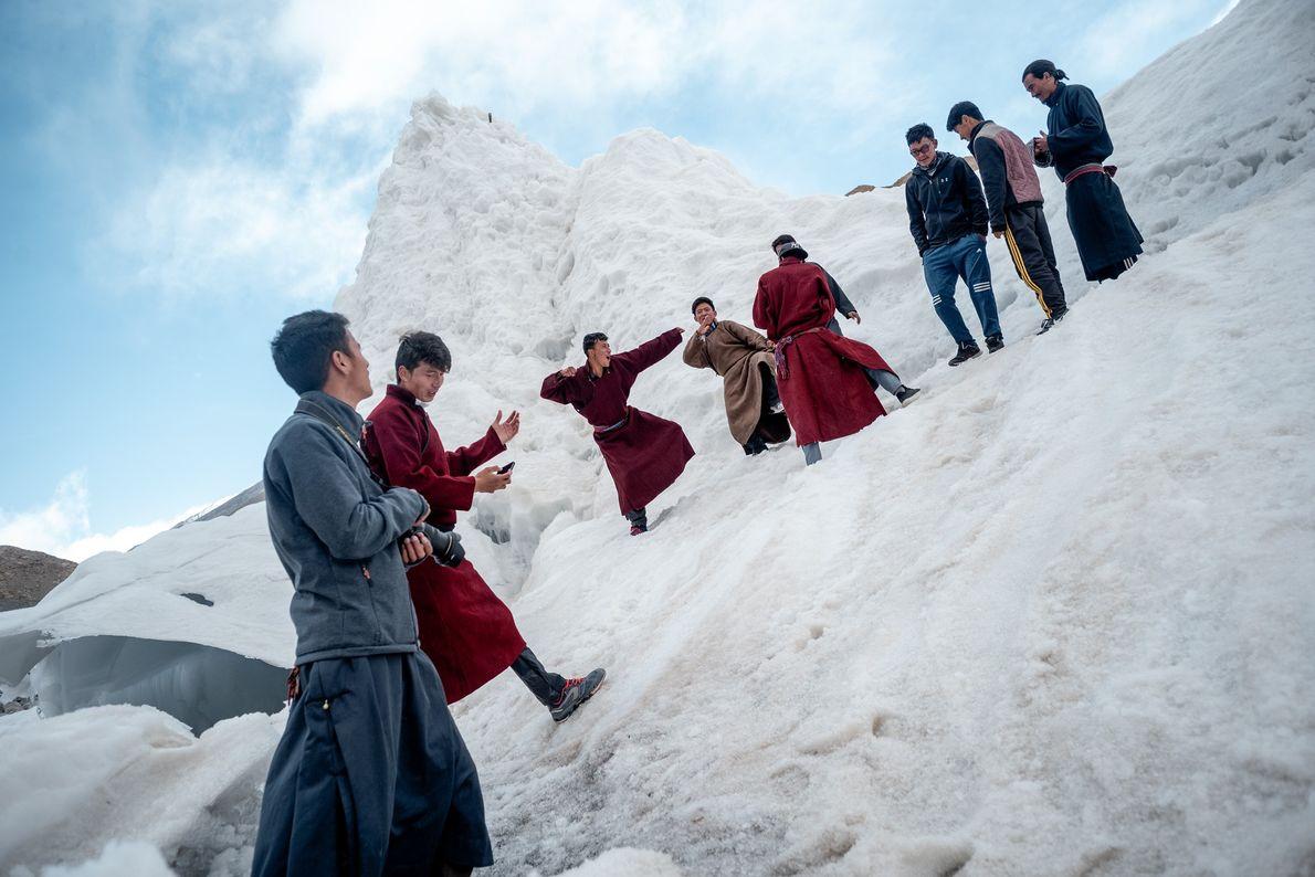 Sonam Wangchuk, inventor das estupas de gelo, criou também uma escola alternativa perto de Leh, uma ...