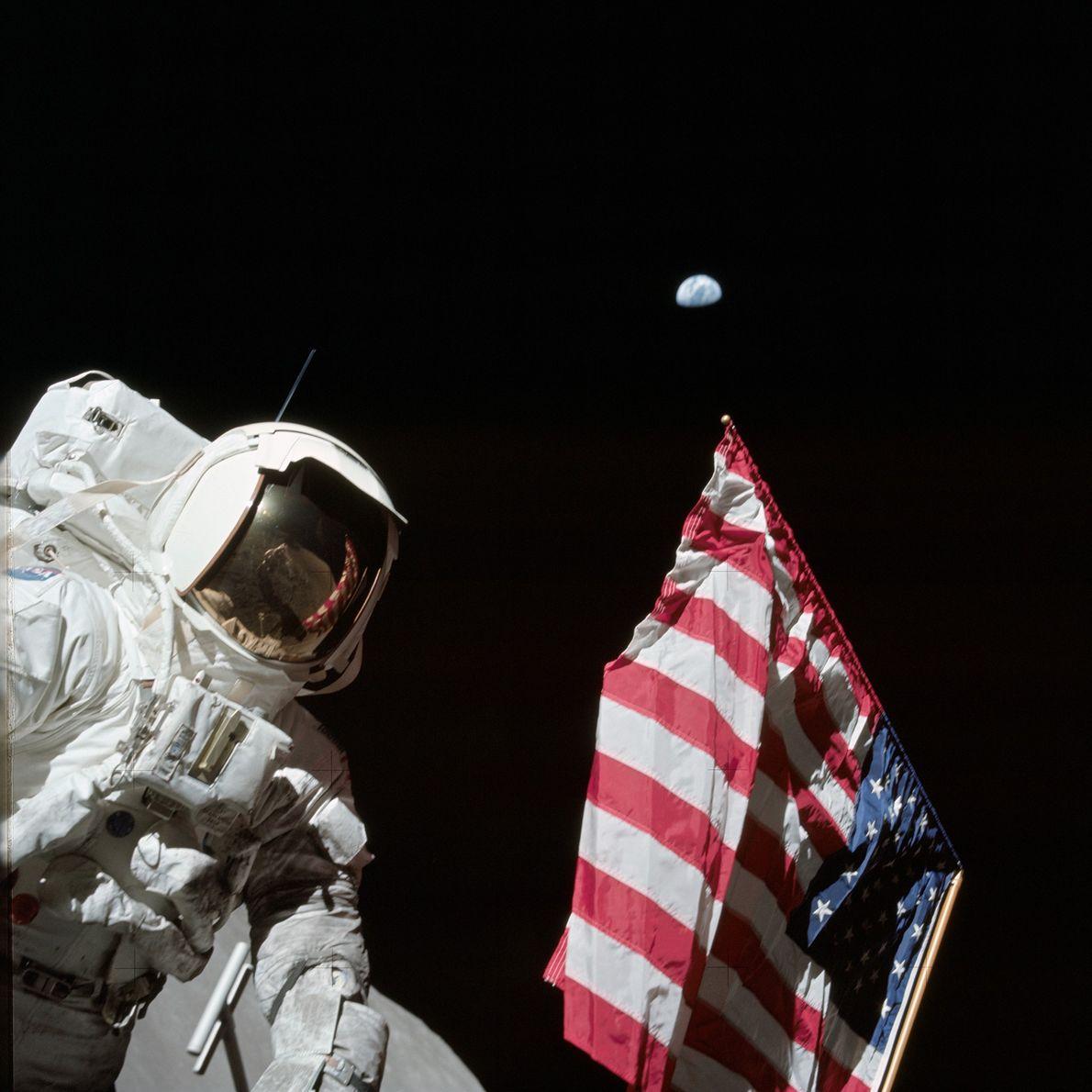 Harrison H. Schmitt, astronauta da Apollo 17,