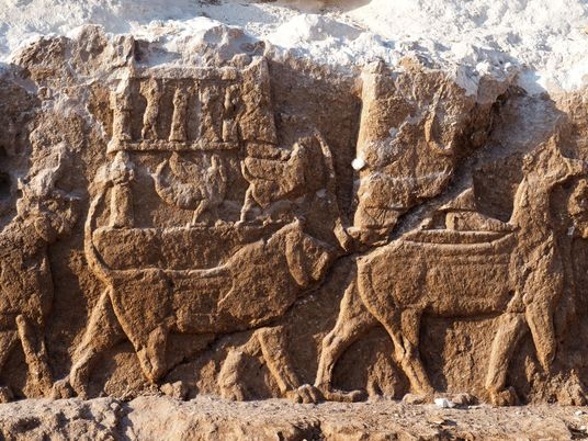 Descobertos Relevos de Pedra Assírios 'Extremamente Raros' no Iraque