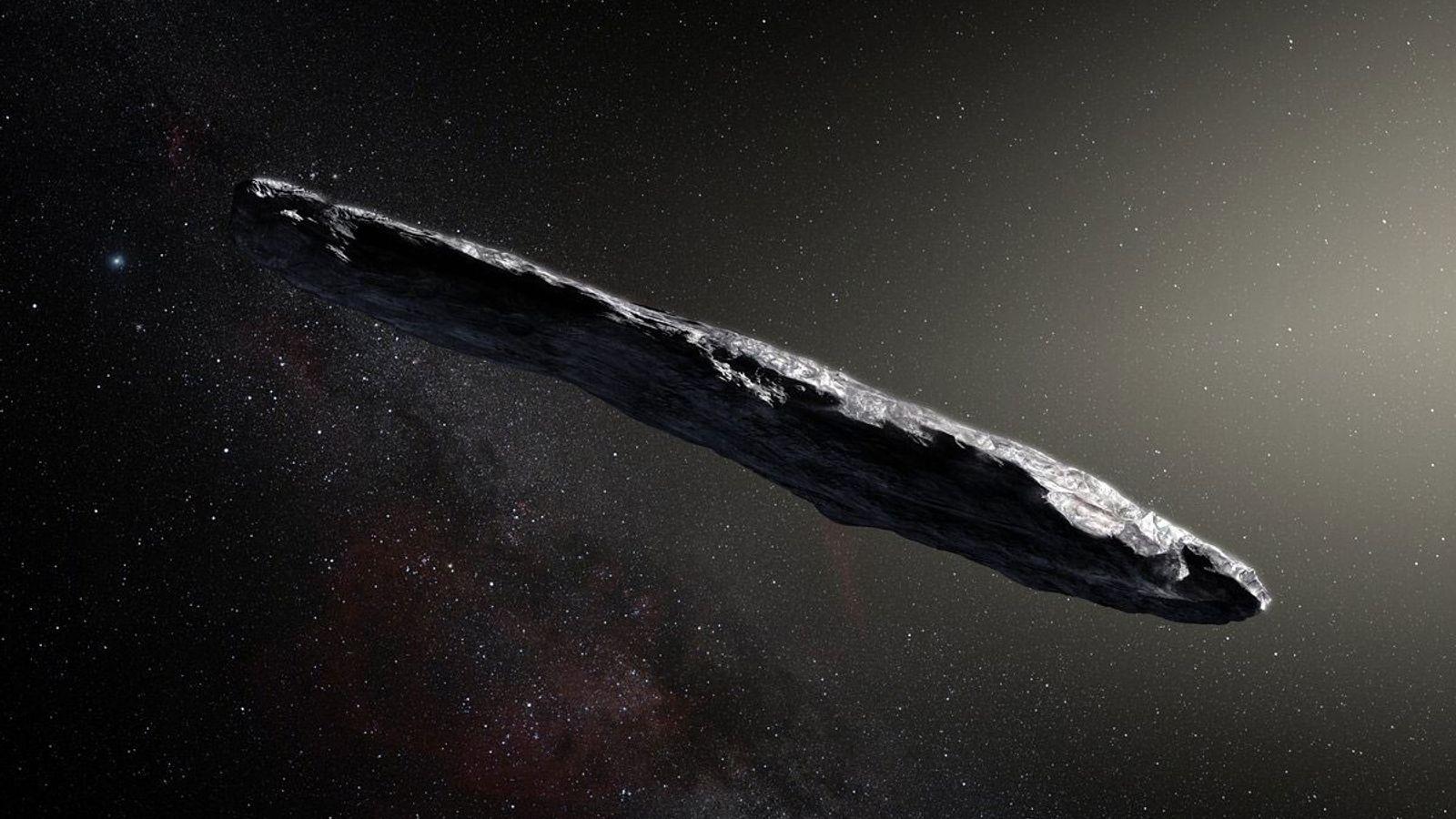 Objeto Espacial Rochoso Desconhecido