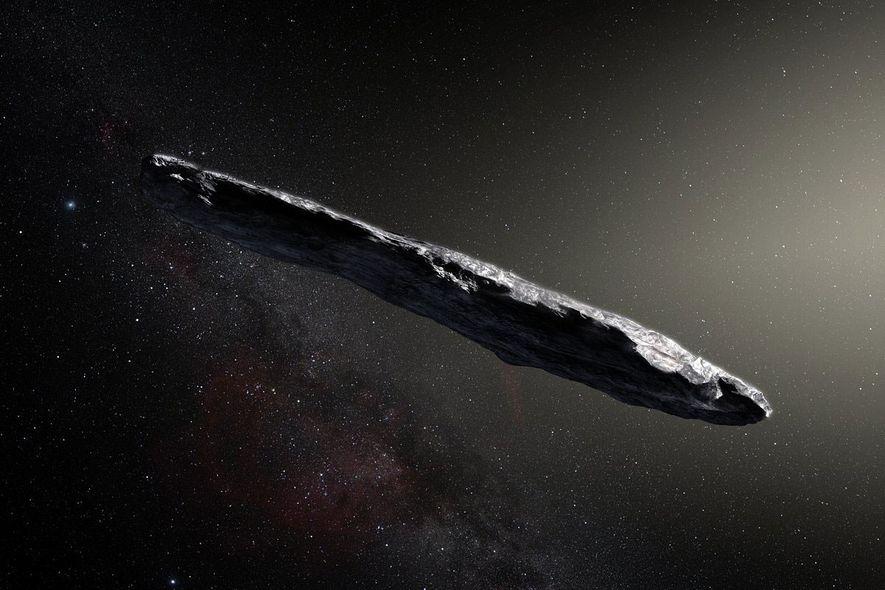 Objeto Rochoso de Outro Sistema Solar é Algo Nunca Antes Visto