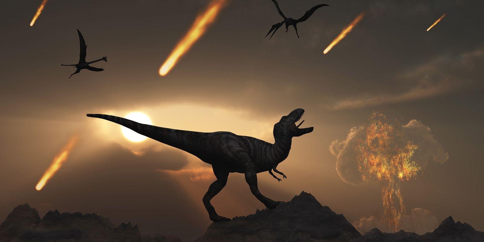 Vulcões Podem Ter Ajudado a Vida a Recuperar Após o Impacto do Asteroide que Matou os ...