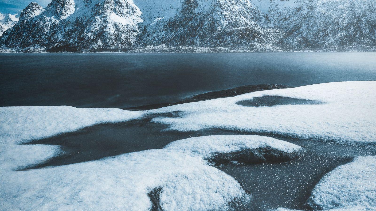 Austnesfjorden, nas ilhas Lofoten