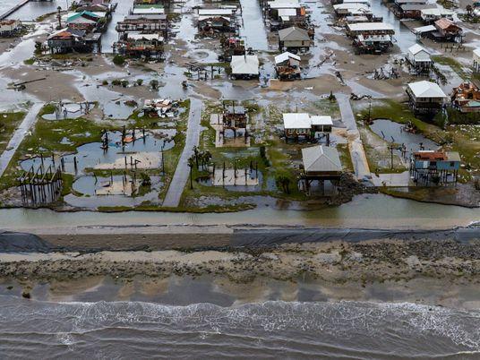 Fotografias aéreas mostram o impacto devastador do furacão Ida na costa do Louisiana