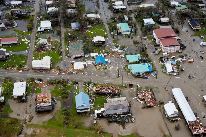 Grand Isle estava no lado leste do olho do furacão Ida, a posição mais perigosa para ...
