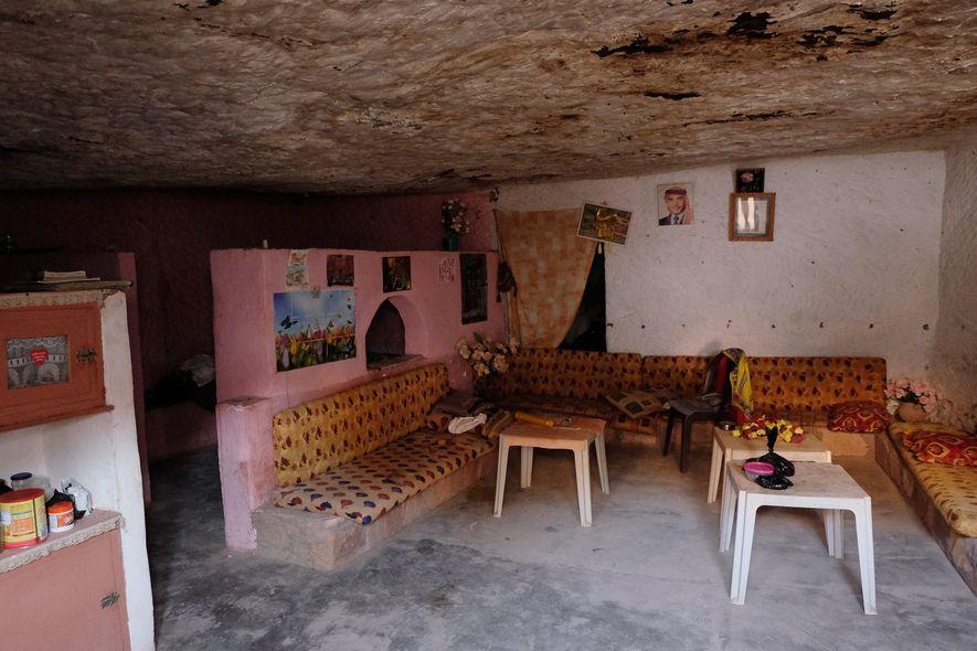 Casa em Caverna em Petra