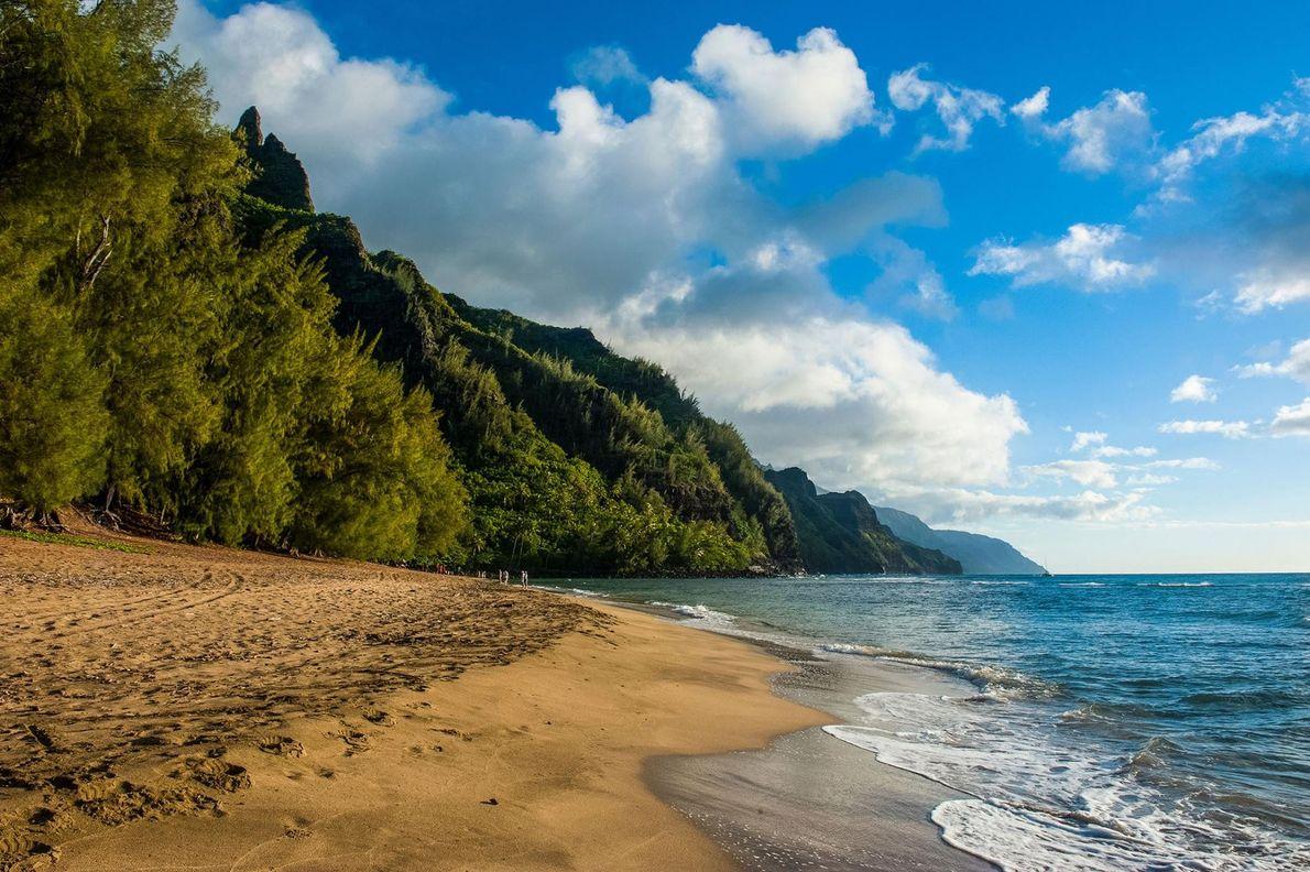 KE'E BEACH, KAUAI, HAVAI