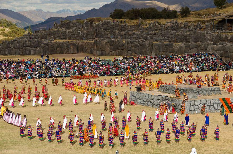 O momento alto do festival tradicional do Peru, Inti Raymi, acontece no dia 24 de junho.