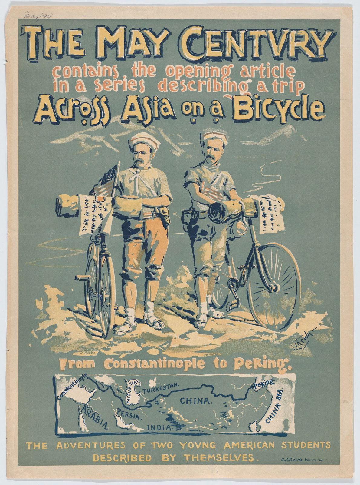 Em 1891, Thomas Gaskell Allen e William Lewis Sachtleben, dois jovens estudantes americanos, partiram numa viagem ...