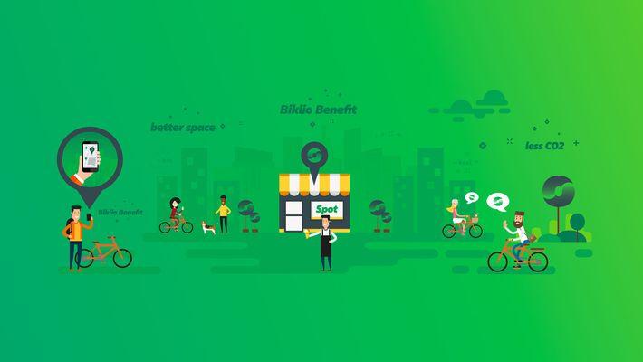 Imagem da aplicação Biklio