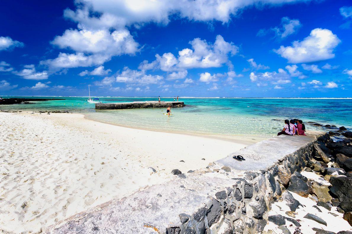 Baía Azul, Maurícias.