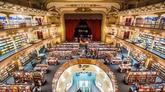 Esta é a Livraria Mais Bonita do Mundo