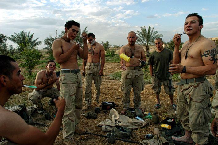 Fuzileiros da Marinha dos EUA no Iraque