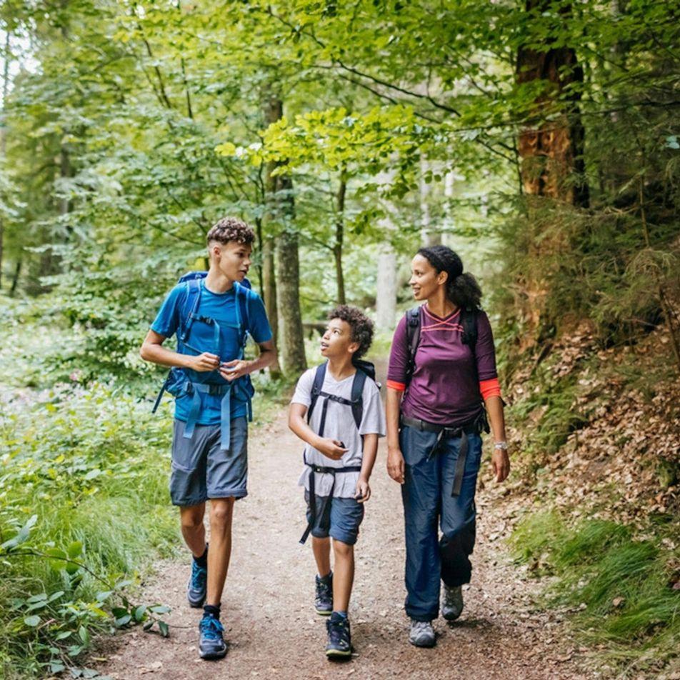 Quer conversar melhor com os seus filhos? Leve-os para a natureza.