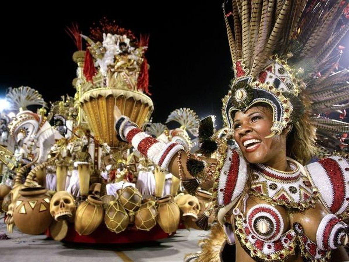 Foliões do Carnaval, Rio de Janeiro