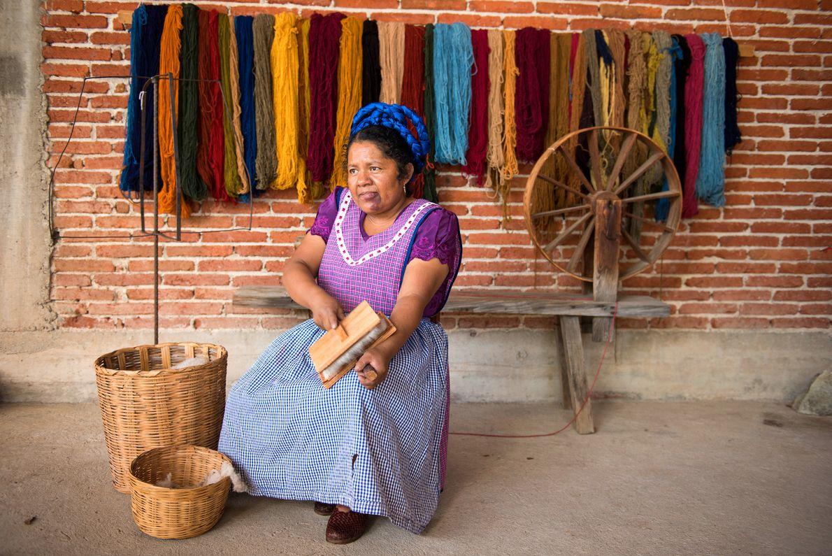 lã, Oaxaca