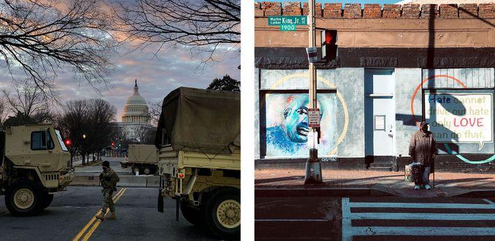 Ruas de Washington