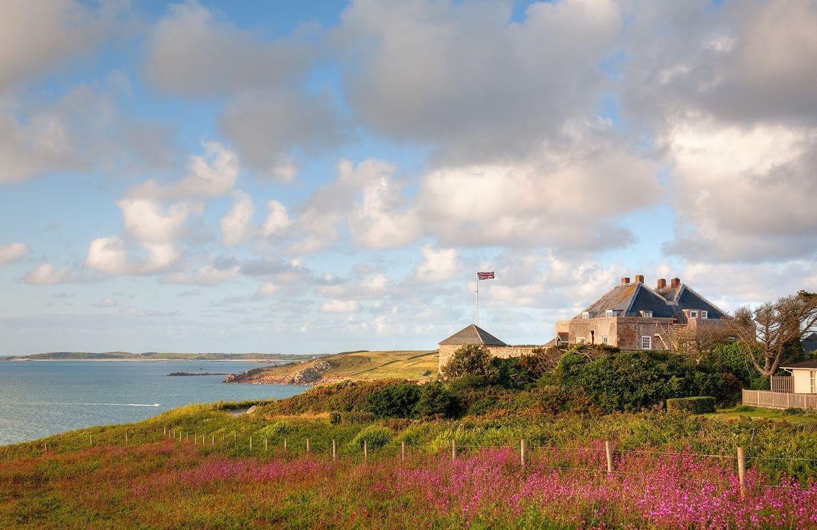Castelo Estrela,  ilhas de Scilly.