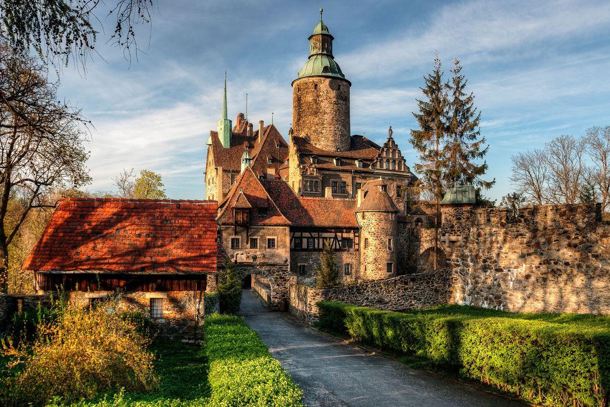 Castelo Czocha, no sul da Polónia.