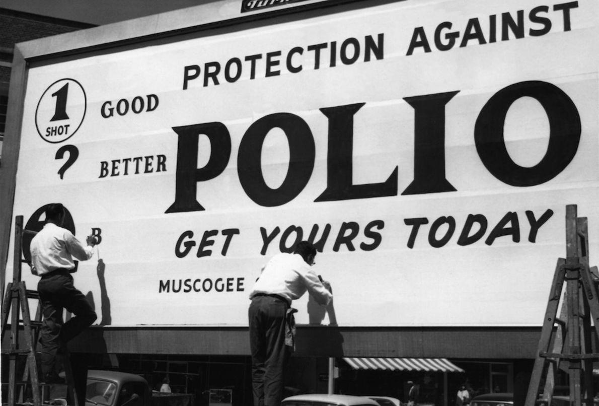 Vacinação contra a poliomielite