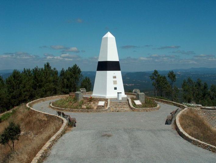 Centro Geodésico de Portugal, no concelho de Vila de Rei.