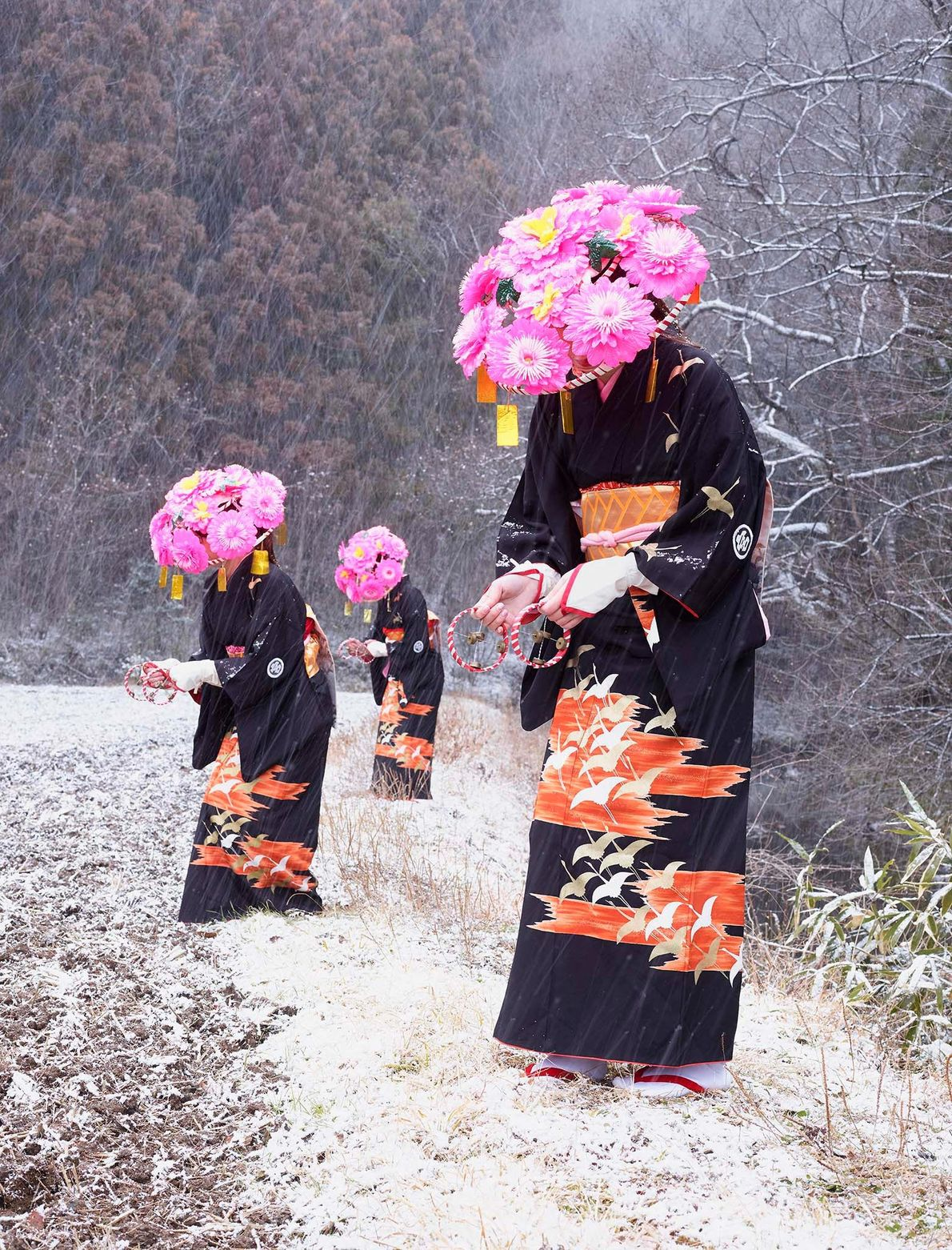 Mulheres de quimono