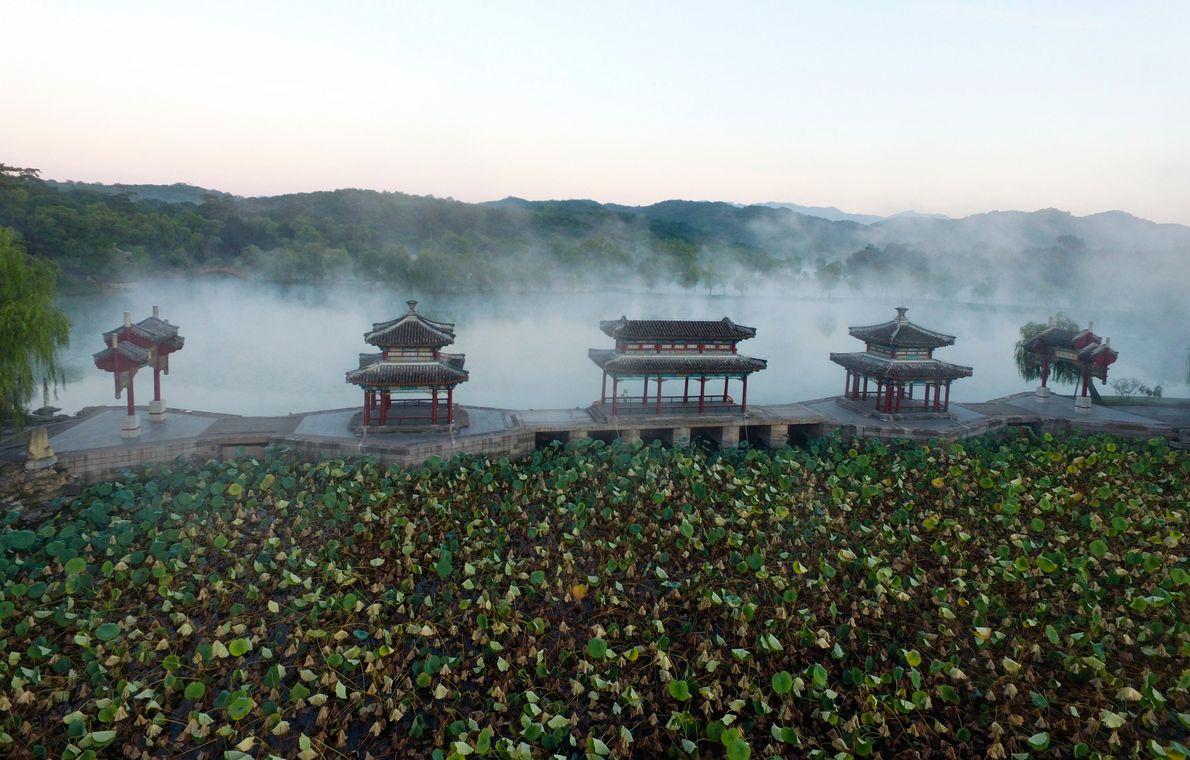 RESIDÊNCIA DE MONTANHA EM CHENGDE, NA CHINA