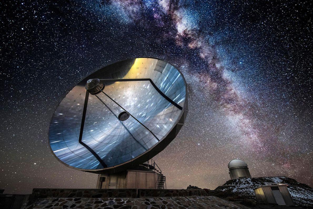 Antena do observatório La Silla