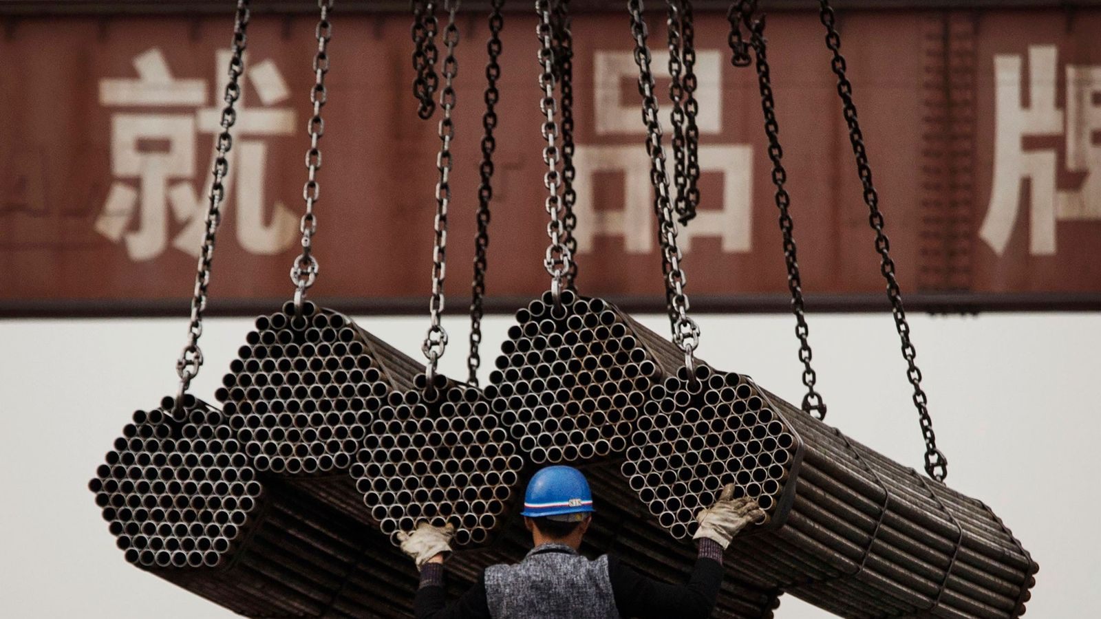 A luta da China contra a poluição
