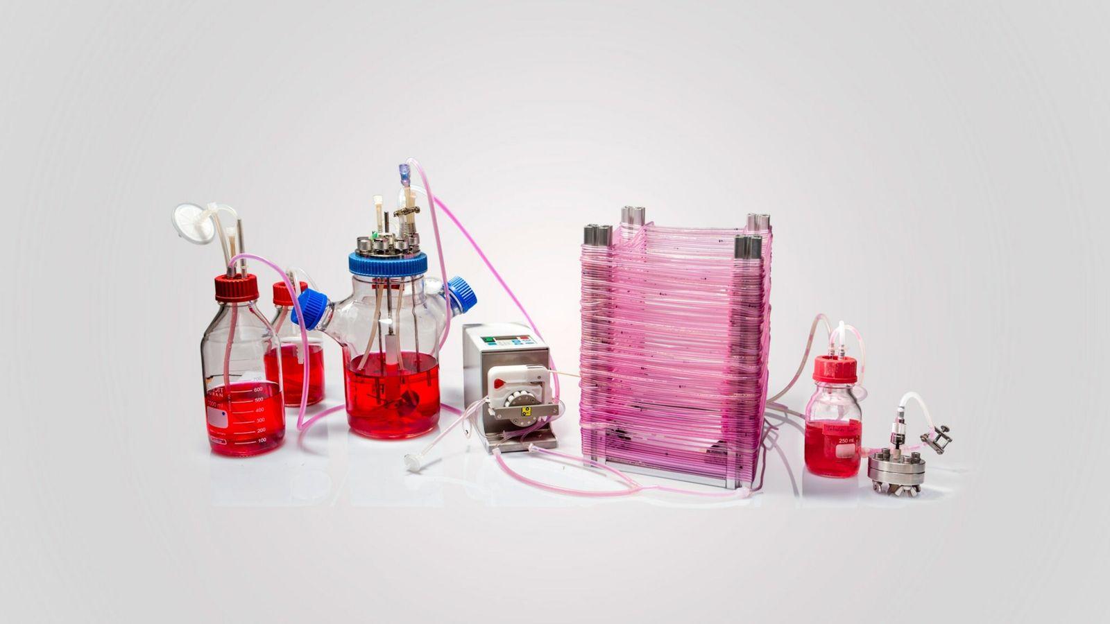 Protótipo de biorreator tubular