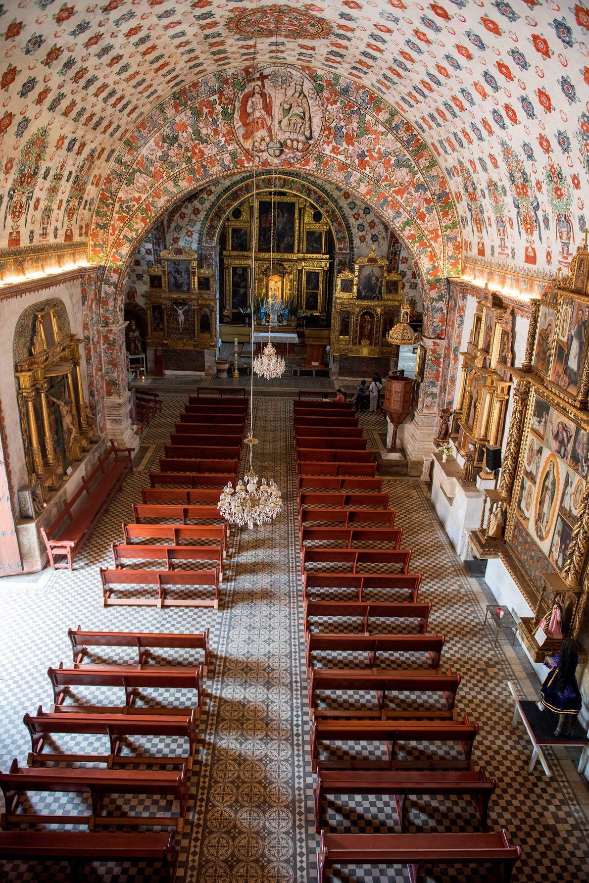 Templo de San Jeronimo, em Oaxaca.