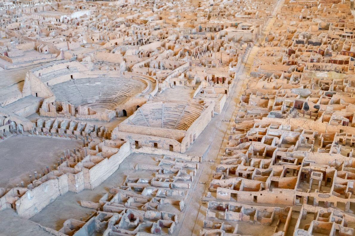 Maqueta de Pompeia