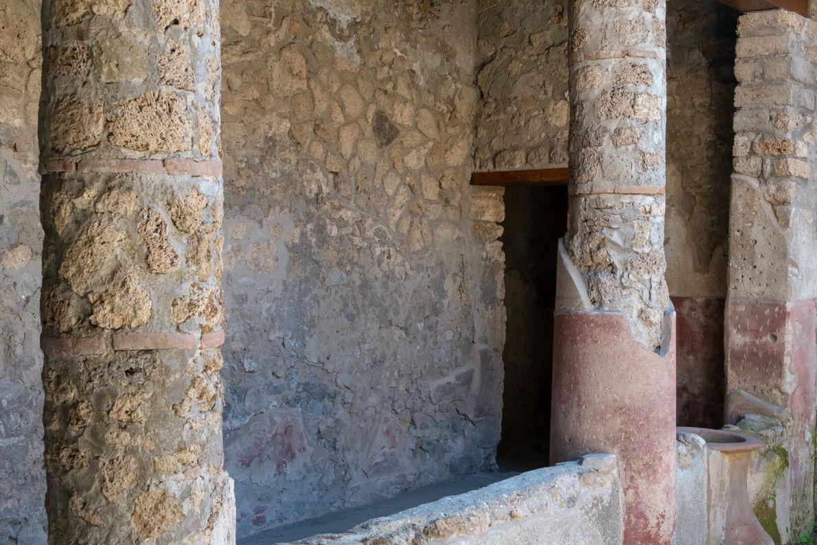 colunas de Pompeia