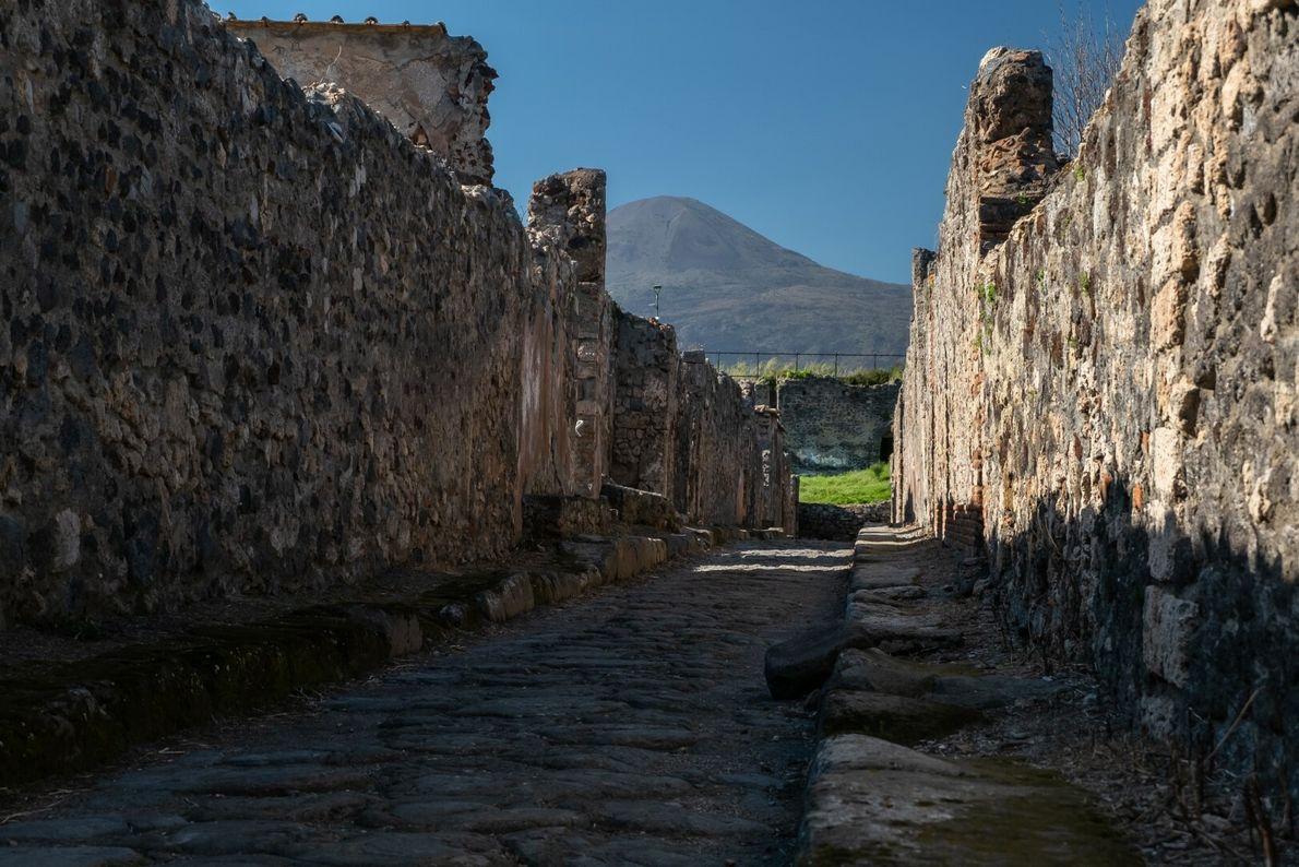 ruínas Pompeia
