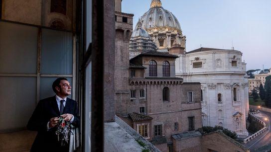 Gianni Crea, guardião-mor das chaves dos Museus do Vaticano.