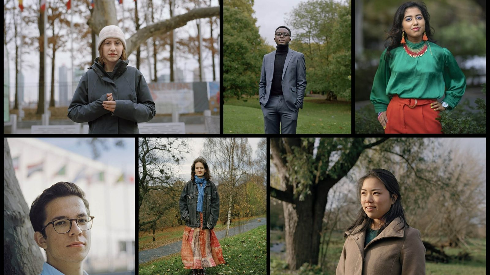 jovens ativistas climáticos