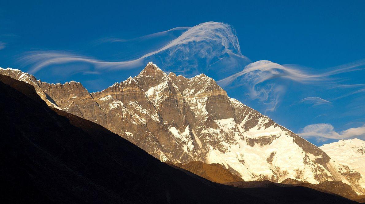 Lhotse foi a primeira tentativa de inverno de Andrzej Zawada num 8 mil, em 1974.