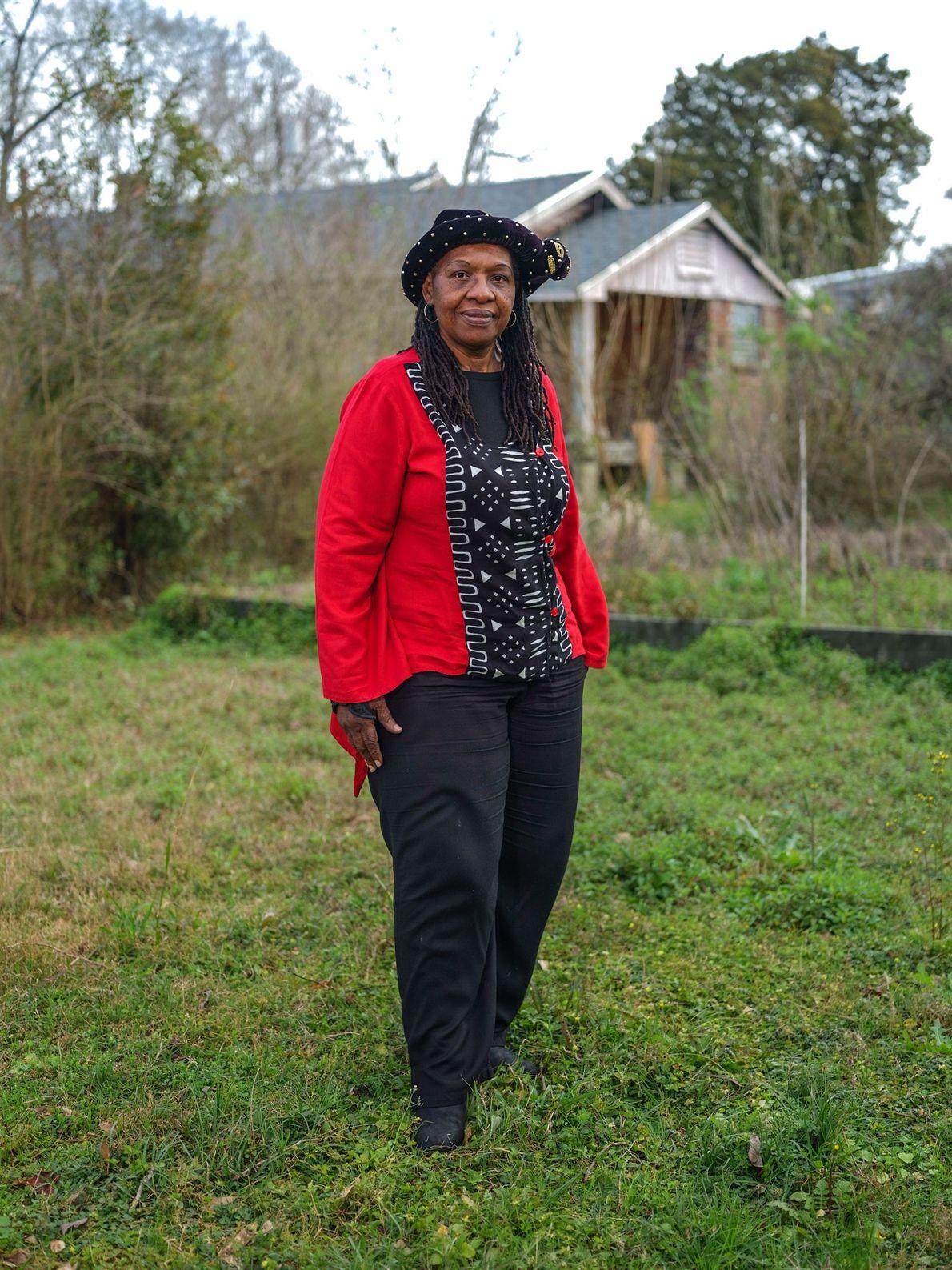 Os fundadores de Africatown eram marginalizados pelos seus sotaques africanos, diz Vernetta Hynson, descendente de Pollee ...